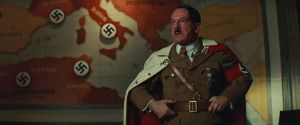 I've had some major misgivings about putting a picture of Hitler on my blog, even if it is fictional Hitler.