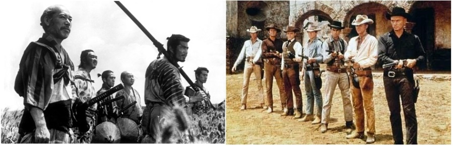 Intertextuality: The Noble Heroes of The Magnificent SevenSamurai