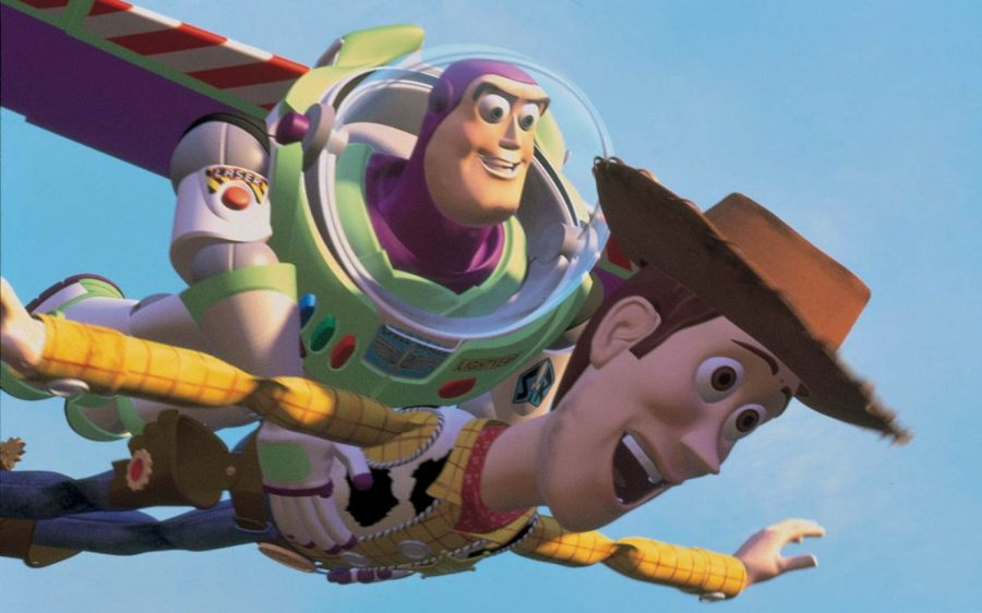 Image result for toy story 1 falling with style