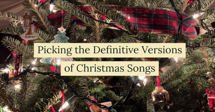 Picking the Definitive Versions of 5 ChristmasSongs