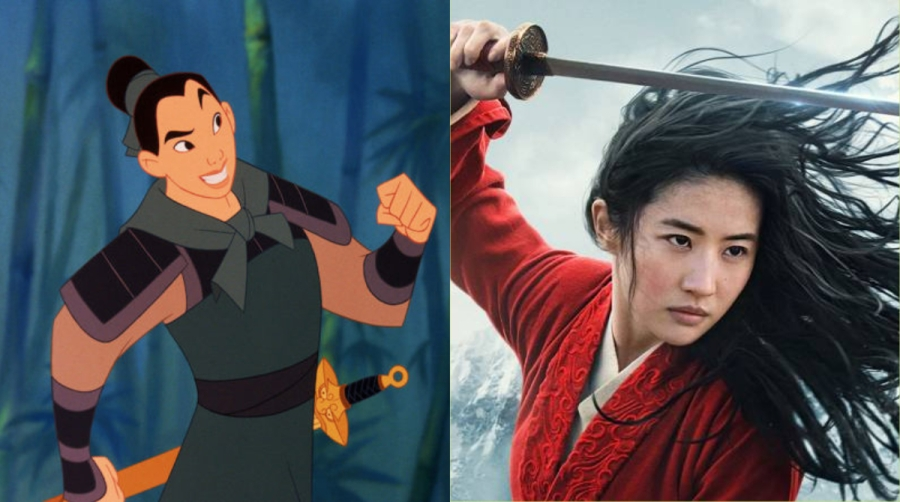 The new Mulan will be different, and that'sfine